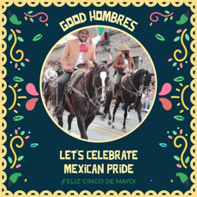 Mexican Fiesta-Themed Instagram Post Creator for Cinco de Mayo 3656f