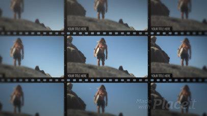 Slideshow Video Generator With a Film Aesthetic 2929-el1