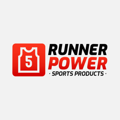 Simple Logo Generator for a Sports Products Brand  3905c-el1