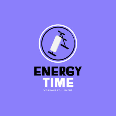 Workout Equipment Store Logo Template 3903c-el1