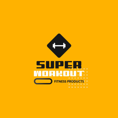 Logo Generator for Fitness Products Suppliers 3909b-el1