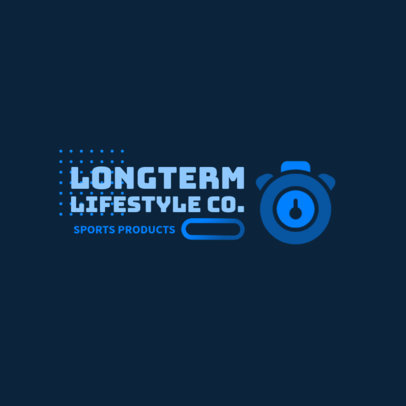 Online Logo Maker for a Dropshipping Fitness Brand 3909e-el1