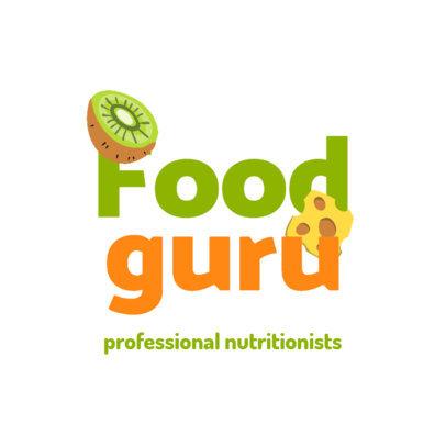 Online Logo Generator for Professional Nutritionists 4315j