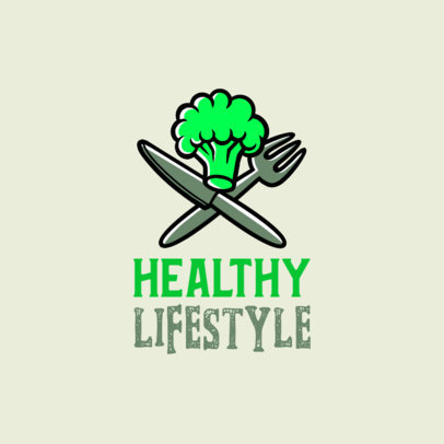 Logo Generator Featuring Illustrated Healthy Food Graphics 4318e