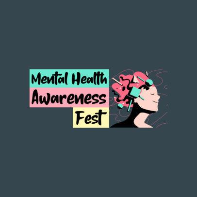 Logo Maker for Mental Health Awareness Programs 4330