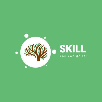 Education Logo Maker for an Online Courses Platform 3934b-el1