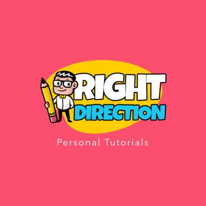 Online Logo Maker for an Educational Channel 3940a-el1