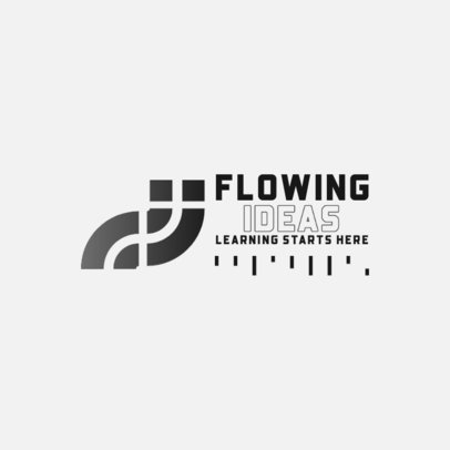 Abstract Logo Creator for an Online Education Business 3942e-el1