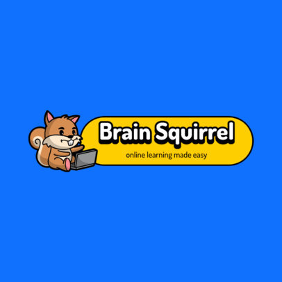 Logo Creator for an Online Learning Service for Kids 3938a-el1