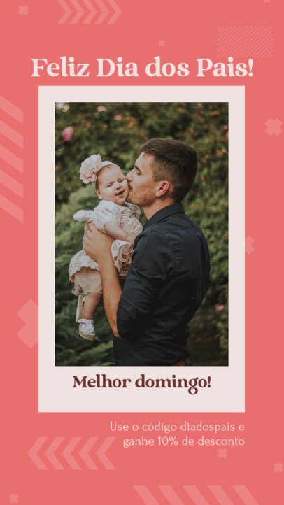 Instagram Story Generator for a Father's Day Special Discount 3667b