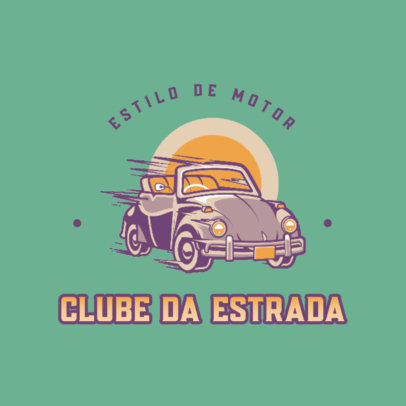 Logo Maker for a Vintage Car Enthusiasts Club 4342h