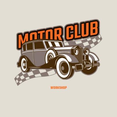 Cars Garage Logo Generator Featuring Vintage Automobile Graphics Cars Garage Logo Generator Featuring Vintage Automobile Graphics 4340h