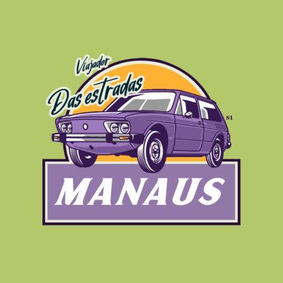 Online Logo Maker for a Vintage Cars Club 4336h