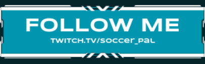 Twitch Panel Generator for a Soccer-Themed Channel 3665b