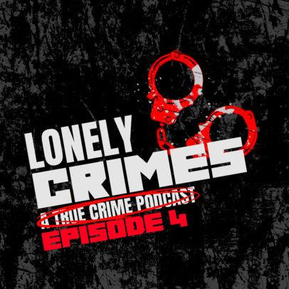 Podcast Cover Maker for True Crime Shows 4357