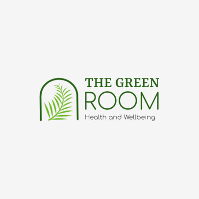 Logo Maker With a Health and Wellbeing Theme 4354