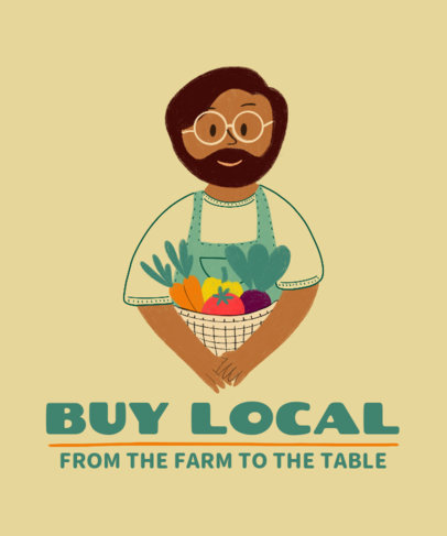 Illustrated T-Shirt Design Generator to Support Local Producers 3700d