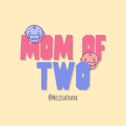 Podcast Logo Generator Featuring a Motherhood Theme 4361i
