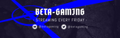 Game Test Twitch Channel Banner Maker 596e