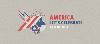 Facebook Cover Maker Featuring 4th of July Celebratory Quotes 3755