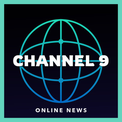 Podcast Cover Maker for an Online News Channel 4398f