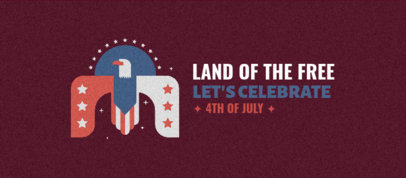 Facebook Cover Generator Featuring an American Eagle for 4th of July 3755b