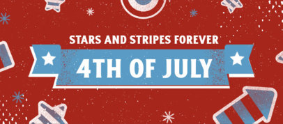 4th of July Themed Facebook Cover Generator With a Patriotic Message 3754d