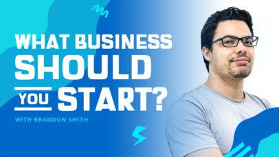YouTube Thumbnail Generator for an Entrepreneurship-Themed Video 4071c-el1
