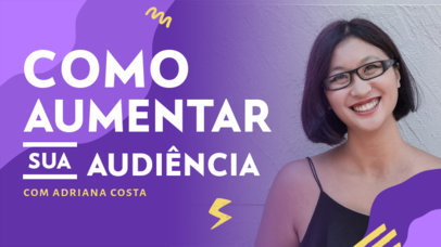 Marketing-Themed YouTube Thumbnail Generator for a Channel in Portuguese  4071d-el1
