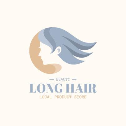 Minimalistic Logo Template for a Local Beauty Shop 4059b-el1