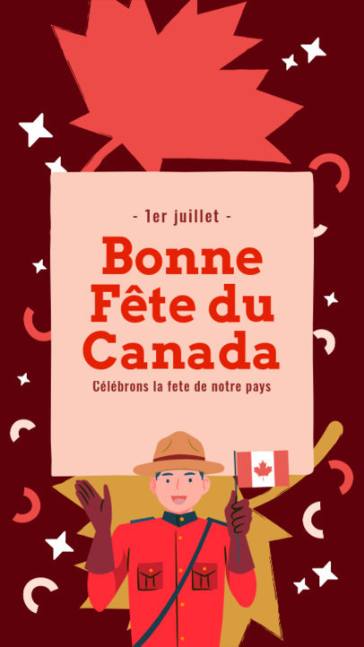 Illustrated Instagram Story Maker To Celebrate Canada Day 3778f