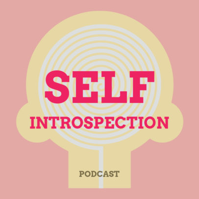 Podcast Cover Generator for a Show About Introspection 4417g
