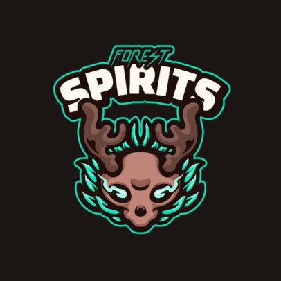 Gaming Logo Maker Featuring Cartoonish Skulls 4112-el1