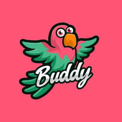 Logo Creator for a Gamer Featuring an Adorable Flying Bird 4116f-el1