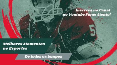 Football-Themed YouTube Thumbnail Design Maker for Sports Content Creators 3784e