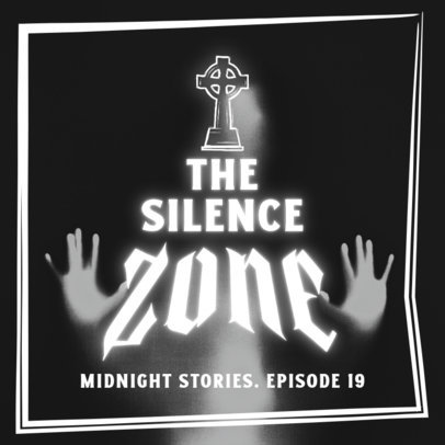 Horror Podcast Cover Design Creator with a Retro Vibe 4428B