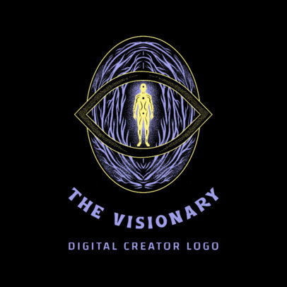Esoteric Logo Maker Featuring a Mystical Illustration 4420b