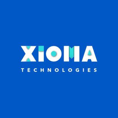 Technology Logo Maker Featuring Modern Fonts 4446b