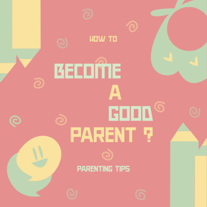 Parenting-Themed Podcast Cover Generator 4363b