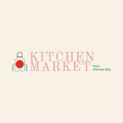 Logo Maker for a Kitchen Tools Market 4471a