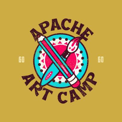 Online Logo Generator for a Kids Summer Camp 4484