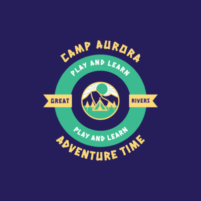 Online Logo Creator for an Outdoor Summer Camp for Kids 4480F