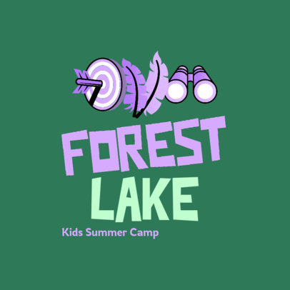 Simple Logo Maker for a Fun Kids Summer Camp 4486e