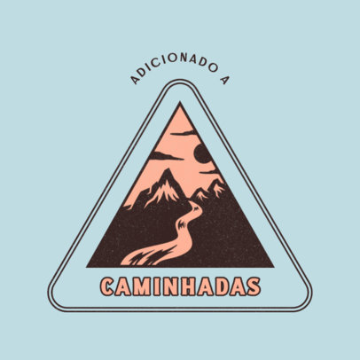 Logo Generator for a Hiking and Trekking Tours Company 4482f