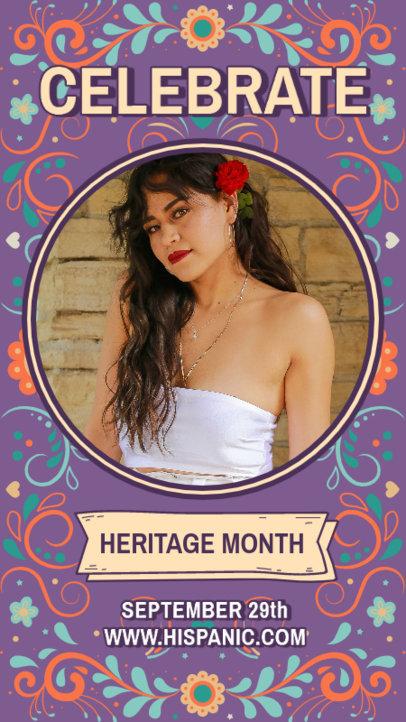Instagram Story Design Creator to Celebrate Hispanic Heritage Month 3864c
