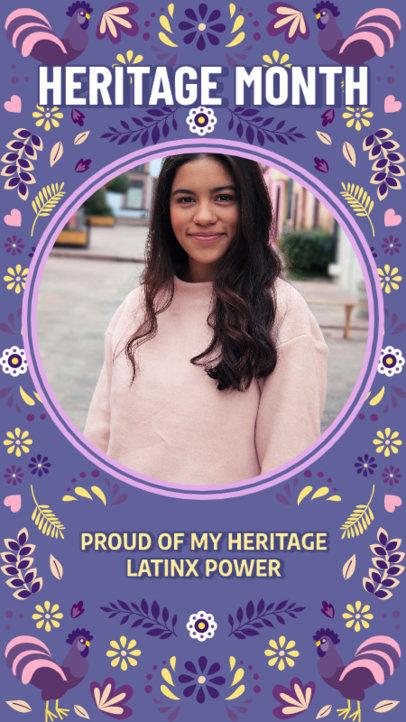 Colorful Instagram Story Design Creator to Commemorate Hispanic Heritage Month 3864e