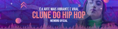 Patreon Cover Design Maker for a Brazilian Hip Hop Artist 3872a