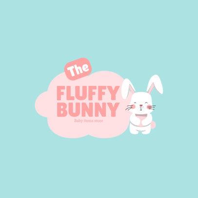Cute Logo Creator for a Baby Items Store 4189b-el1