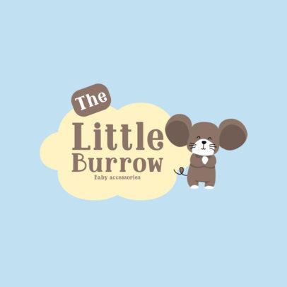 Logo Creator For a Baby Accessories Seller 4189f-el1