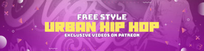 Patreon Cover Design Creator for a Hip Hop Video Producer 3872b